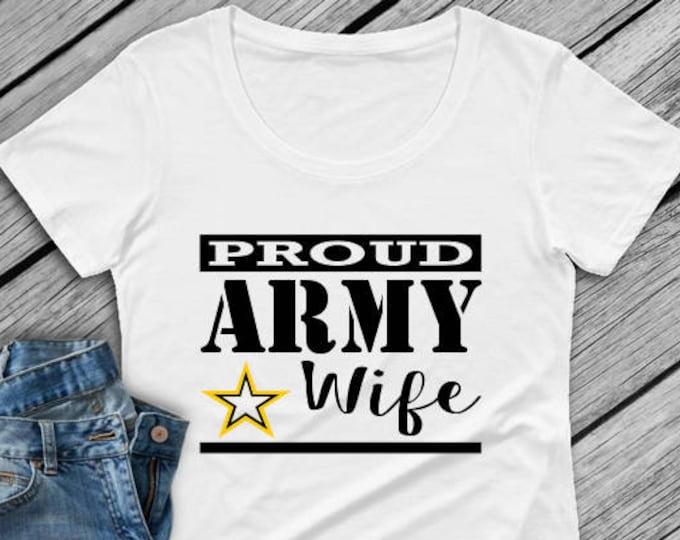 Army Wife shirt   Military wife shirt   Air Force wife shirt  Deployment   Army shirt