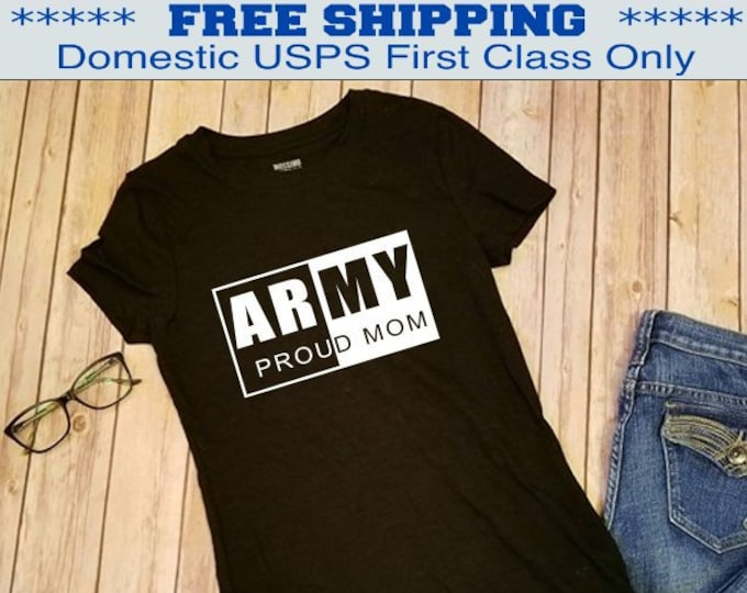Army Mom shirt | Military shirt | Deployment shirt | Navy shirt | Army shirt