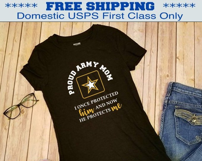 Army Mom shirt | Deployment shirt | Military shirt | Army shirt | Marine shirt | Air Force shirt | Navy shirt