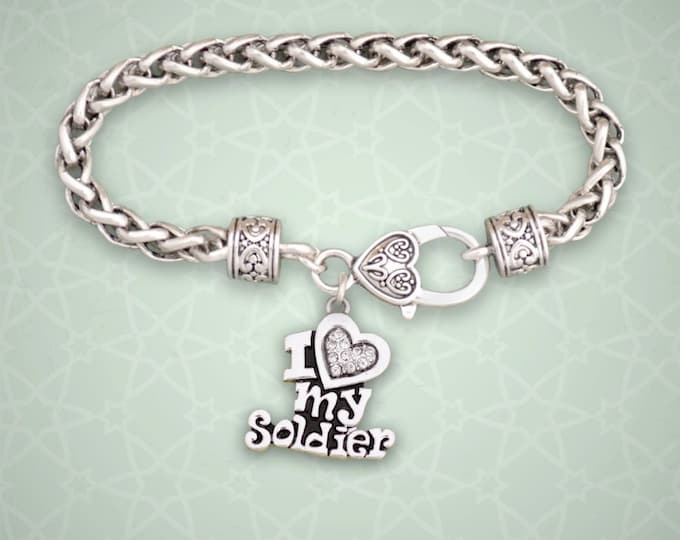 Military Bracelet | Army Mom | Military Mom Bracelet | Army Mom Bracelet Deployment Bracelet