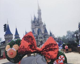 Christmas cookies mouse ears