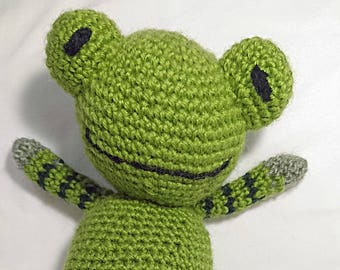 Crochet Frog Amigurumi