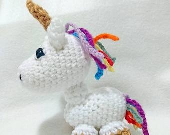 Unicorn Amigurumi Crochet Plush