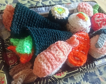 Sushi Amigurumi crochet