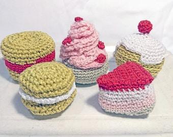 Pastries Amigurumi crochet