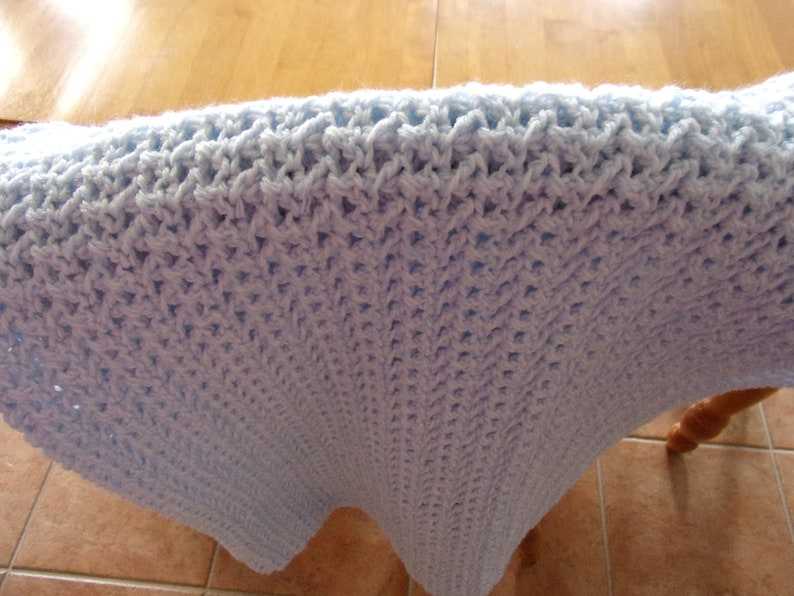 Quiet Moment Toddler Afghan