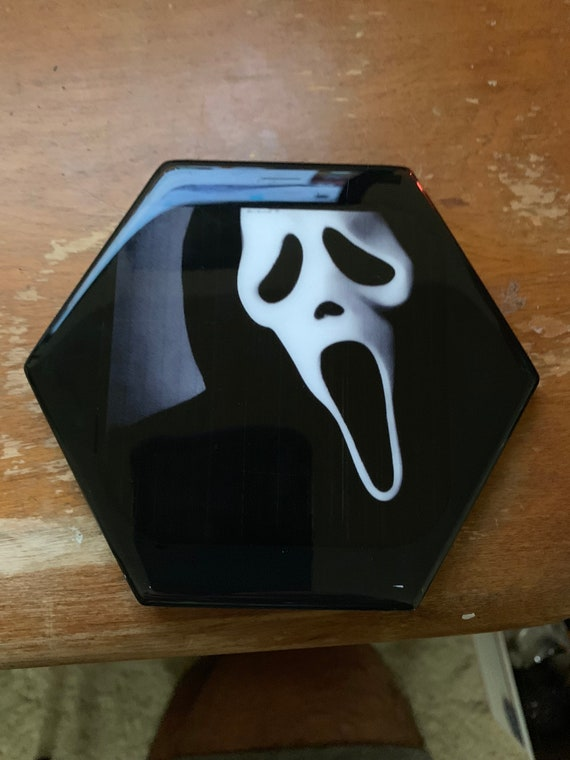 1 Ghost Face Resin Drink Coater