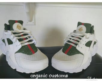 official photos 9a92d 3ef6d Gucci Inspired Nike Huaraches