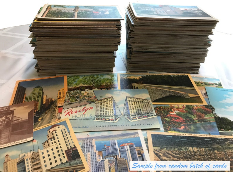Antique and vintage postcards  random lot of 25  from the image 0