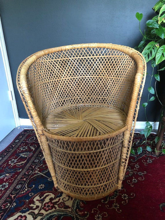 Amazing Vintage Wicker Dining Chair Ocoug Best Dining Table And Chair Ideas Images Ocougorg