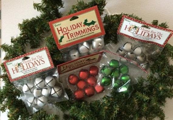 """Jingle Bells 10mm Assorted Colours /""""5 Colours/"""" 72 pieces"""