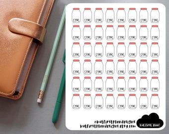 Slimming World SYNS Tracker Planner Stickers For Planners, Bullet Journals, Scrapbooking // Erin Condren, Happy Planner, Filofax