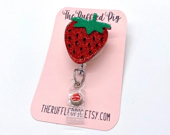 Fruit Badge Reel,Orange,Pear,Lemon,Food Badge Reel,Dietitian Badge,Nurse Badge Reel,Retractable Badge