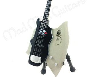 2f4c3e93e Miniature Guitar THE AXE with free stand. Kiss Gene Simmons