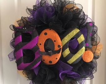 Boo! Wreath