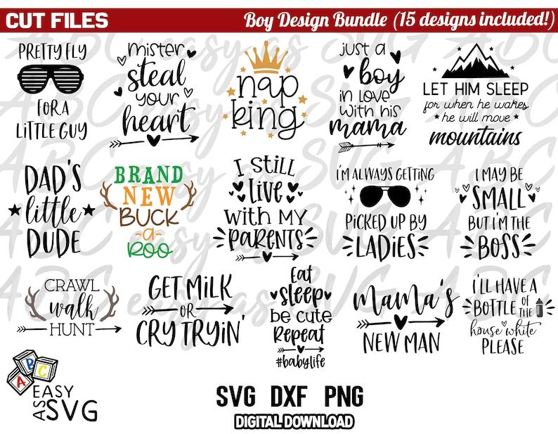 svg Bundles dxf png Newborn Bundle Boy Cut Files Baby Boy SVG Bundle Funny Boy Quotes svg Boy Sayings SVG Boy Design Bundle SVG svg