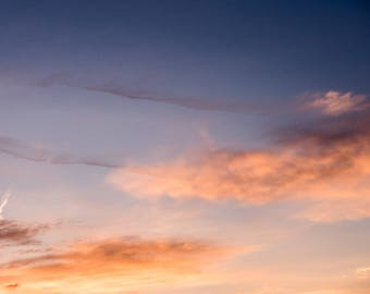 Landscape , Fine Art Photography, Nature Photography, Clouds, Print, Wall Art, Sky, Sunset