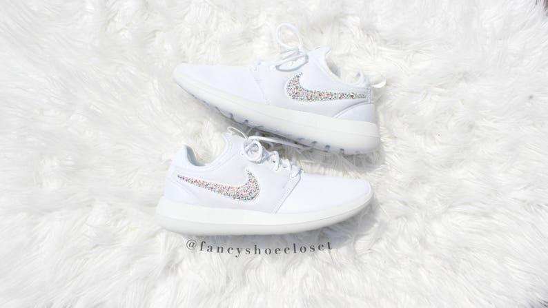 Nike W Roshe Two White White Pure Platinum   Footshop