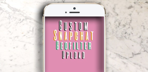 snapchat geofilter submission service | etsy