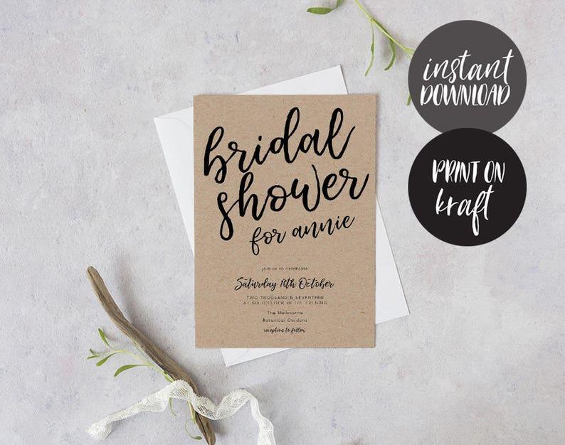Before I do Hens Night Invitation Bridal Shower Invite Bachelorette Printable Deirdra Bridal Shower Invitation INSTANT DOWNLOAD