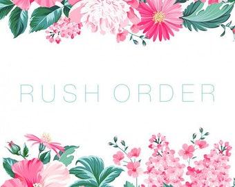 Rush Order Listing Upgrade