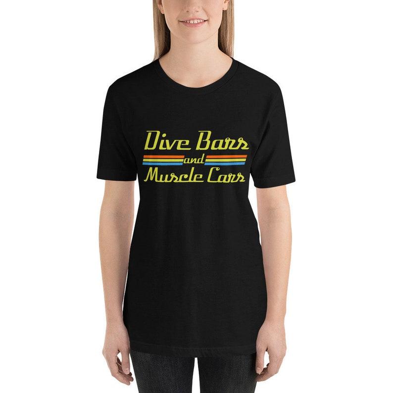 a26388fa Dive Bars And Muscle Cars.. Dive Bars Vintage Womens Shirt | Etsy