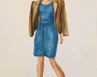 Blue Dress/vestido Azul (2017)