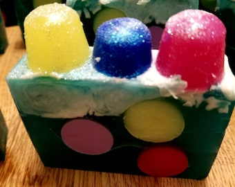 Gumdrop Soap | Holiday Soap | Candy Soap | Christmas Soap | Cool Soap | Winter Soap | Gift Soap | Stocking Stuffers