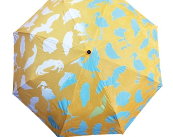Yellow Wet & Reveal Umbrella