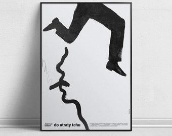 À bout de souffle/Do utraty tchu - Alternative Movie Poster by Aleksander Walijewski // Print, Art, Drama, Crime