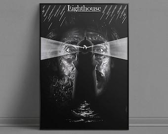 The Lighthouse - Alternative Movie Poster by Aleksander Walijewski // Print, Art, Film,Drama, Horror