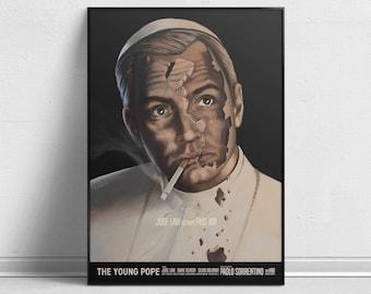 The Young Pope - Alternative TV Show Poster by Aleksander Walijewski // Print, Art, Film, Drama
