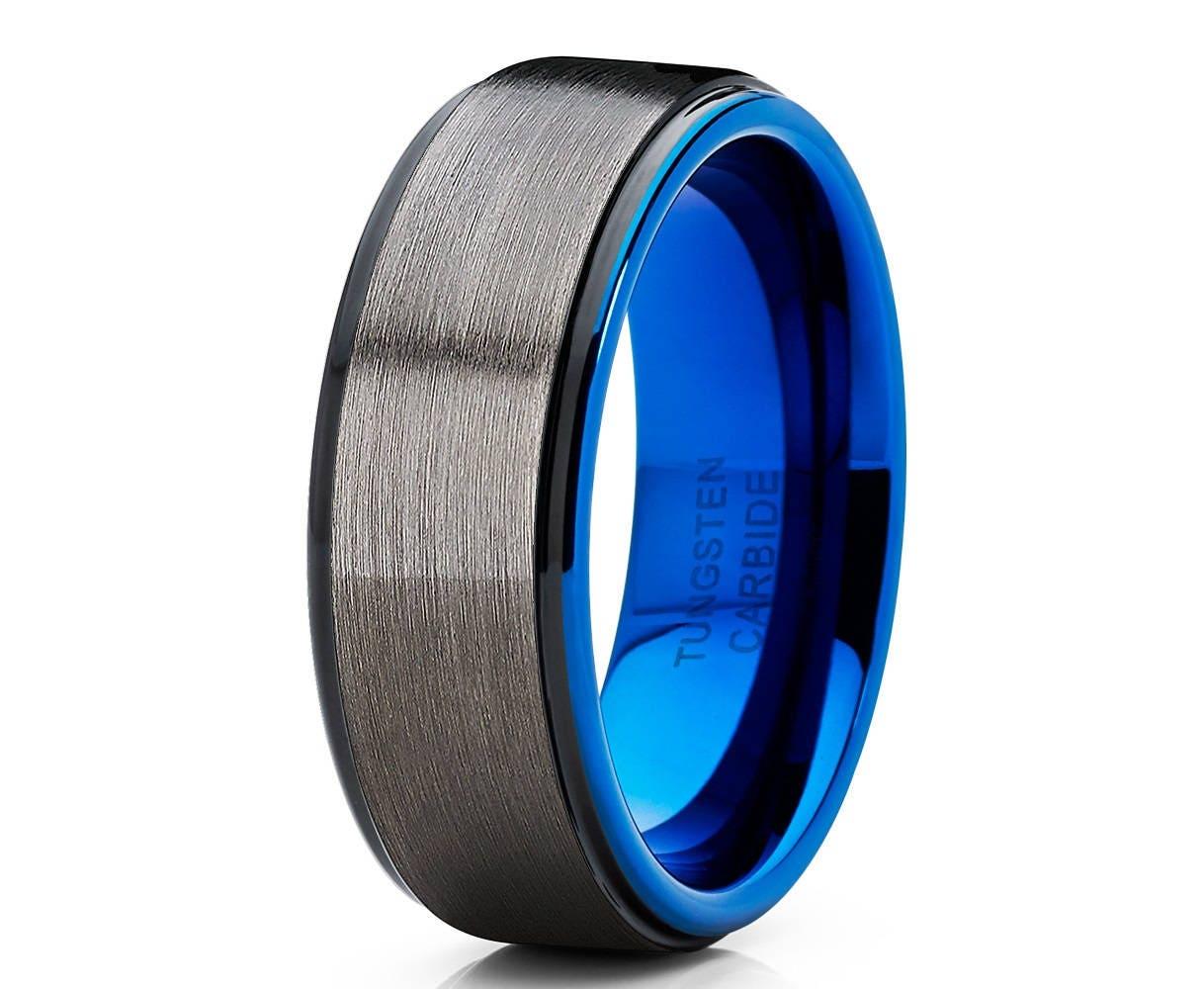 50: Wedding Band Gunmetal Blue At Websimilar.org