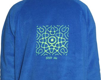 Neon fluorescent Hertz 5101 Fleece Sweatshirt