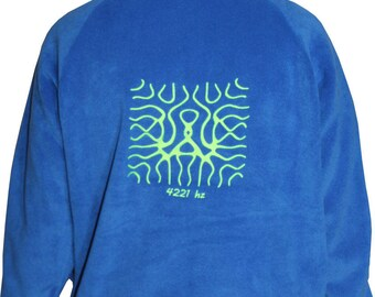 Neon fluorescent Hertz 4221 Fleece Sweatshirt