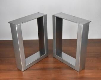 U Shape Bench Legs, Raw Steel Bench Legs, Set Of 2 Steel Bench Legs, Steel  Coffee Table Legs, Metal Table Legs, Coffee Table Base