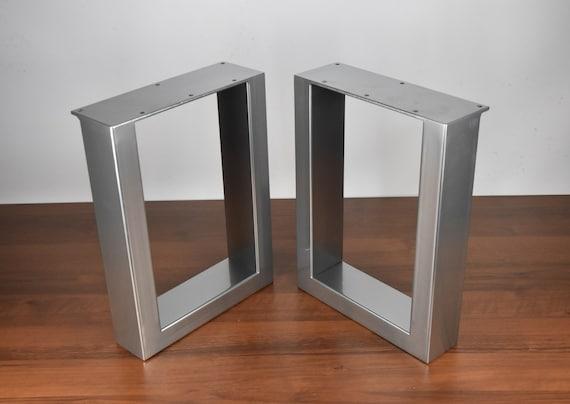 U Shape Bench Legs Raw Steel Bench Legs Set Of 2 Steel Bench | Etsy