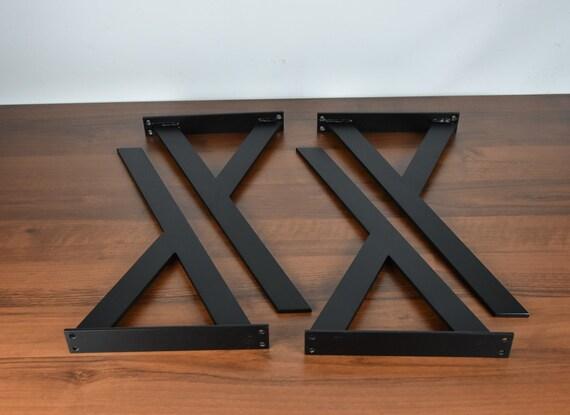 Y Shape Bench Legs Coffee Table Legs Raw Steel Bench Legs | Etsy