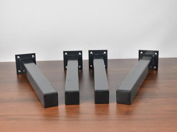 Charmant Square Tubing Legs Bench Legs Table Legs Raw Steel Table | Etsy