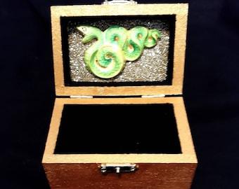 Secret Serpent Golden Chest
