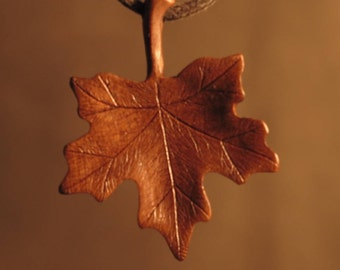Handmade Leaf Necklace
