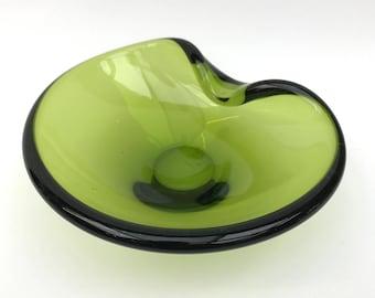 Holmegaard 17271 May Green Bowl - Per Lutken - 1960's