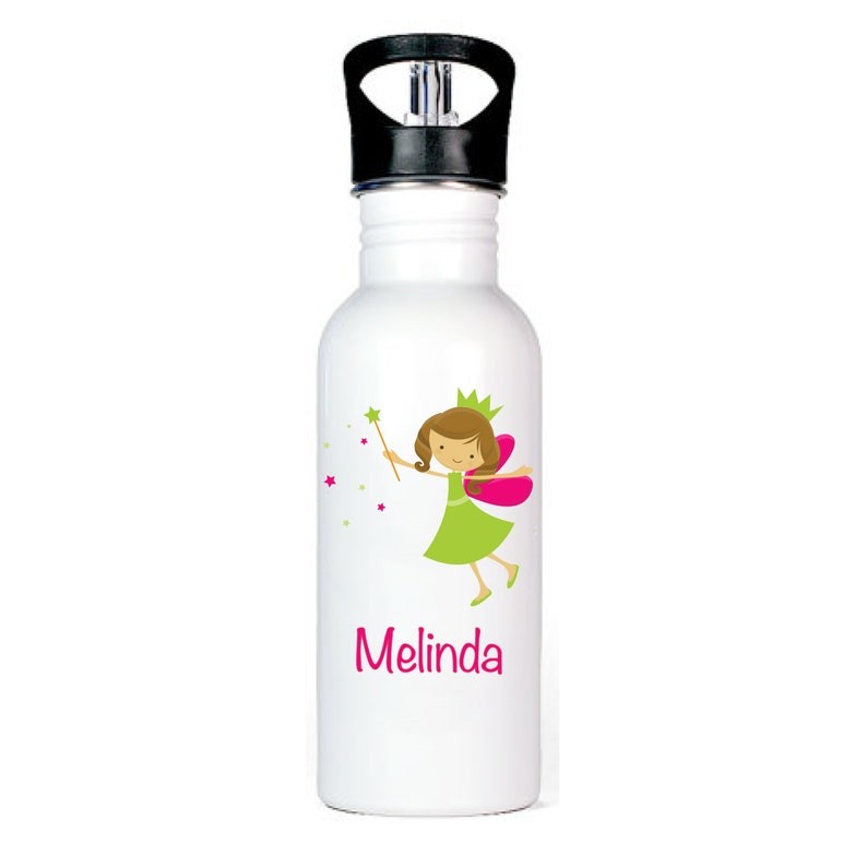 Fairy Dust 20 oz FREE SHIPPING! Personalized Spout Water Bottle