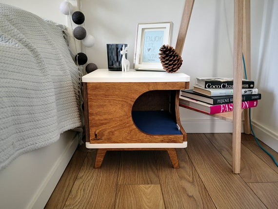 Cat House Bed Gift For Catlover, Modern Cat Bed Furniture