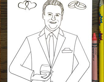 The Bachelor Coloring Book Chris Harrison Arie Becca Lauren Rose Bachelorette TV Show ABC Bachelor Nation Bachelor Viewing Party