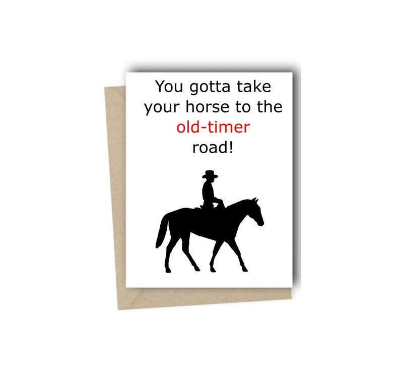 Old Town Road Birthday Card Lil Nas X Billy Ray Cyrus Hip