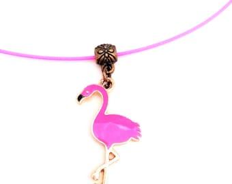 Necklace pink Flamingo (Pink)