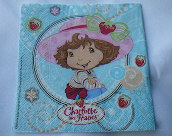 CHARLOTTE strawberries - decoupage, decopatch and scrapbooking.
