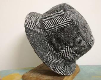 Patchwork woman's hat