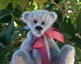 Eddie - a collectible miniature teddy bear